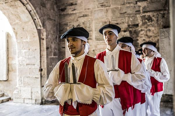 Basque dancers in Saint Jean de Luz